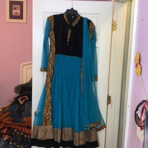Indian Net long dress